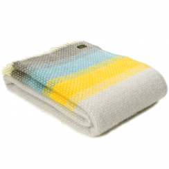 Pure New Wool Ombre Tidal Throw