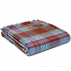 Pure New Wool Tartan Anderson Throw