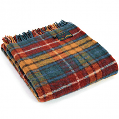 Pure New Wool Tartan Antique Buchanan Throw