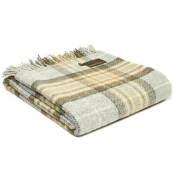 Pure New Wool Tartan McKellar Throw