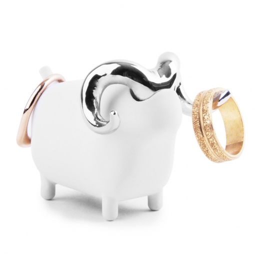 Umbra Anigram Sheep Ring Holder available from Flamingo Gifts