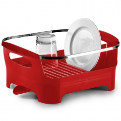Basin Dish Rack Red