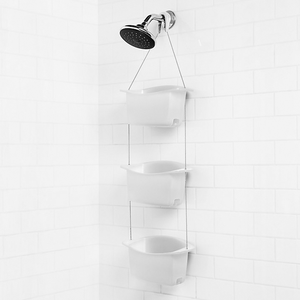 Umbra Bask Shower Caddy White @ Flamingo Gifts