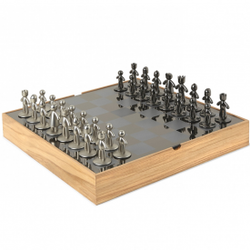 Buddy Chess Set Natural