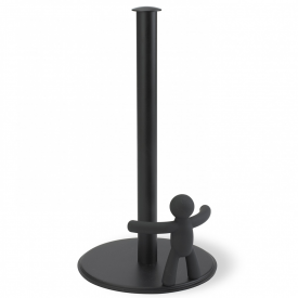 Buddy Paper Towel Holder Black