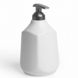 Corsa Soap Dispenser White