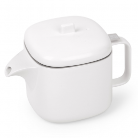 Cutea Teapot with Infuser White