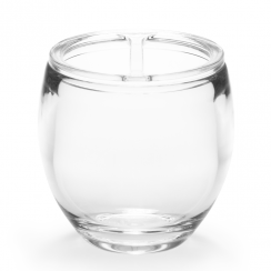 Droplet Clear Toothbrush Holder