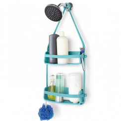 Flex Shower Caddy in Surf Blue