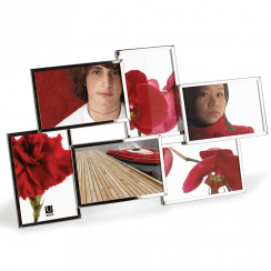 Flo Chrome 6 Photo Frame