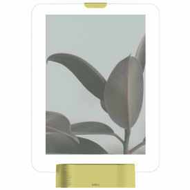 "Glo Frame 5 x 7"" Photo Display Matt Brass"