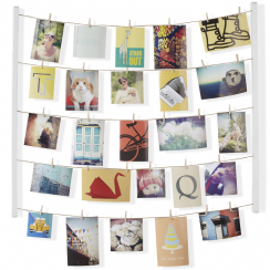 Hangit Photo Display White