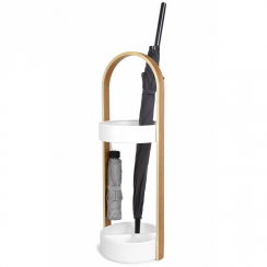 Hub Umbrella Stand White