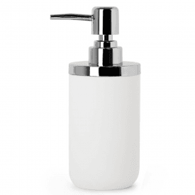 Junip Soap Pump Chrome White