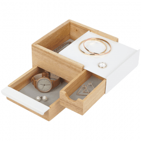 Mini Stowit Jewellery Box Natural