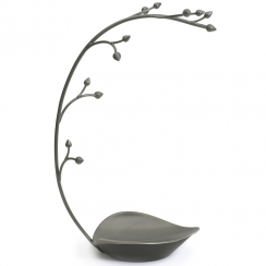 Orchid Gun Metal Jewellery Tree