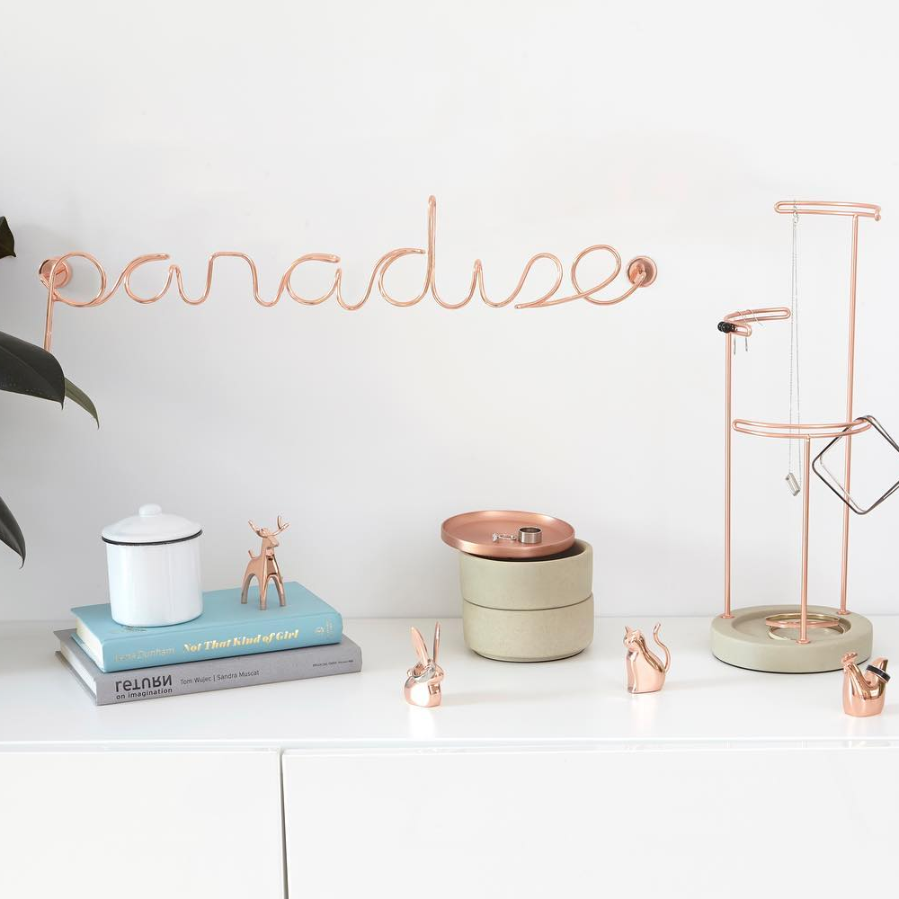 Umbra Paradise Wire Wall Decor Copper