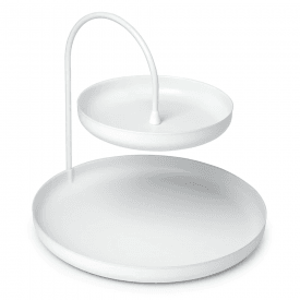 Poise Large Accessory Tray White