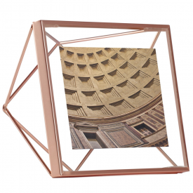 Prisma Photo Frame 4 x 4 Copper