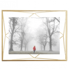 Prisma Photo Frame 5 x 7 Matte Brass