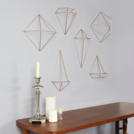 Prisma Wall Decor Copper