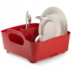 Red Tub Dish Rack