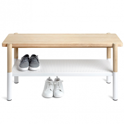 Shoe Storage Promenade Bench