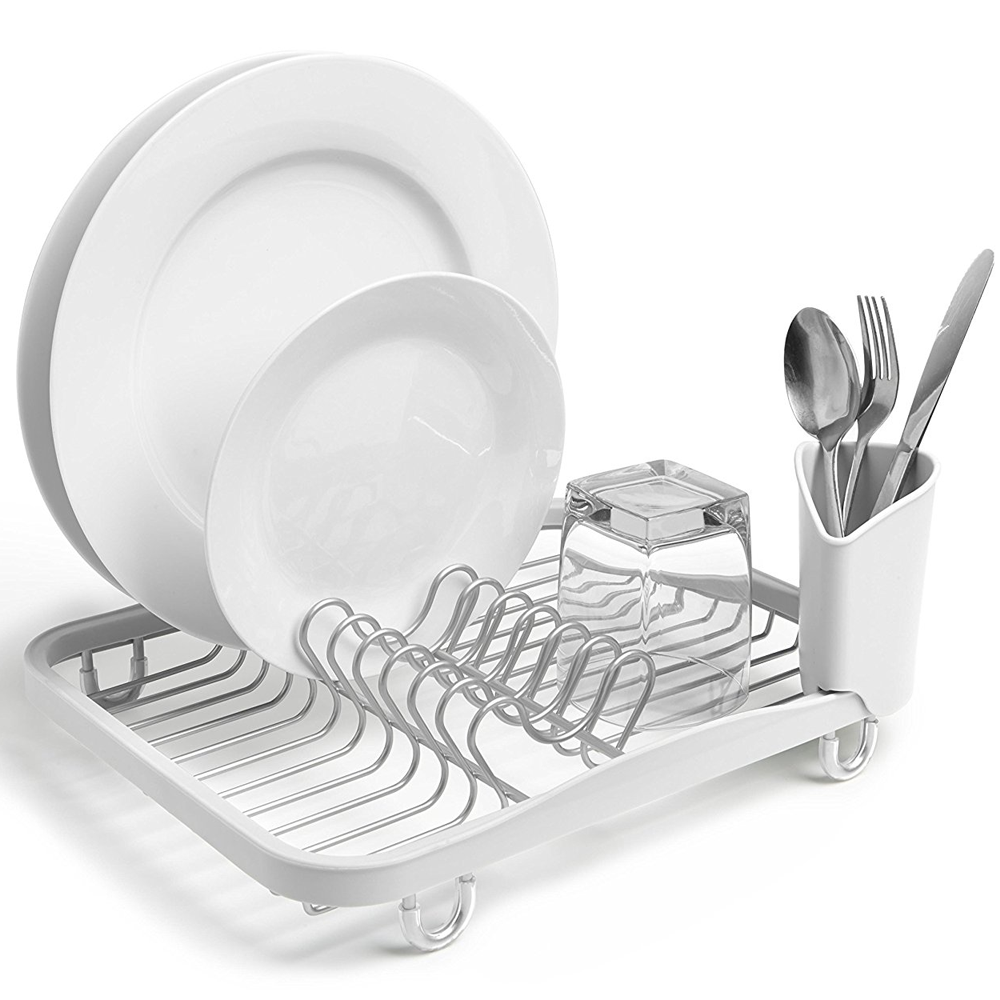 Umbra Sinkin Dish Rack White  sc 1 st  Flamingo Gifts : white plate rack - pezcame.com