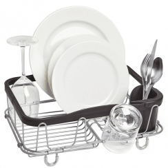 Sinkin Multi Use Dish Rack Black