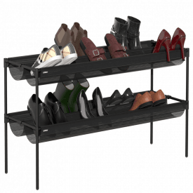 Sling Two Tier Shoe Rack