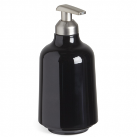 Step Soap Pump Black
