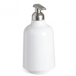 Step Soap Pump White