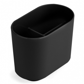 Step Toothbrush Holder Black
