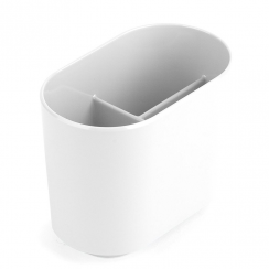 Step Toothbrush Holder White