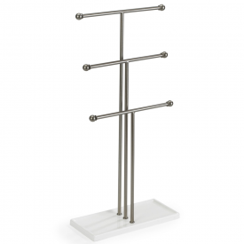 Trigem Jewellery Stand Nickel