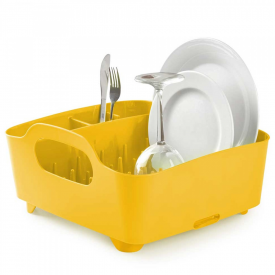 Tub Dish Rack Canary Yellow