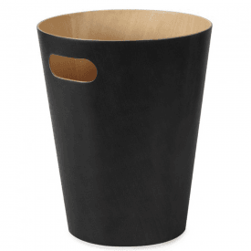 Woodrow Can Bin in Black