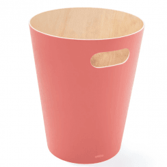 Woodrow Can Bin in Coral