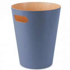 Woodrow Can Bin in Mist Blue