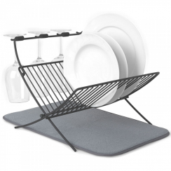 XDry Folding Dish Rack & Drying Mat
