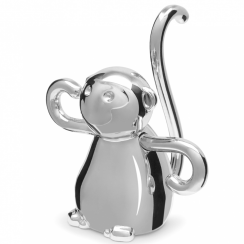 Zoola Monkey Ring Holder Chrome
