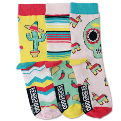3 Amy Mexican Women's Pop Socks