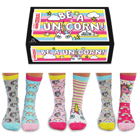 Be A Unicorn Socks Gift Set for Women
