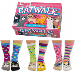 Catwalk Socks Gift Set for Women