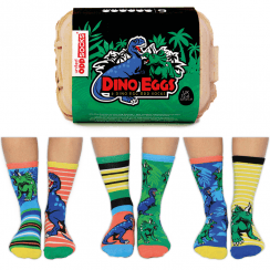 Dino Eggs Socks Gift Set for Boy's