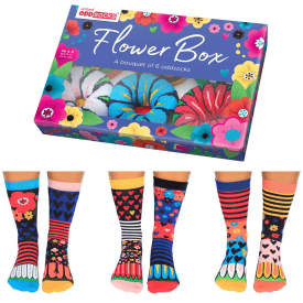 Flower Box Socks Gift Set for Women