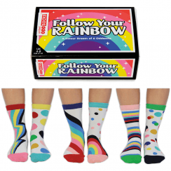 Follow Your Rainbow Socks Gift Set