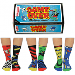 Game Over Socks Gift Set for Boy's