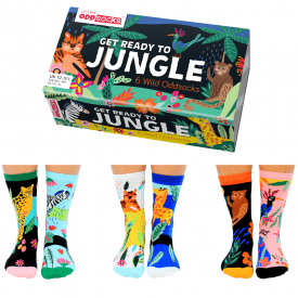Get Ready To Jungle Sock Gift Set for Girl's