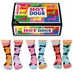 Hot Dog Socks Gift Set